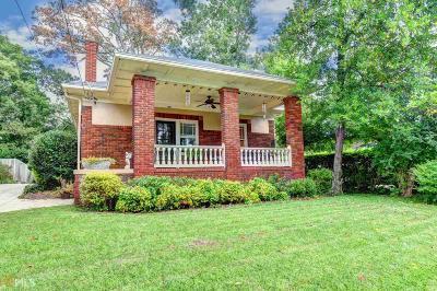 Virginia Highland Single Family Home For Sale: 920 Virginia Cir