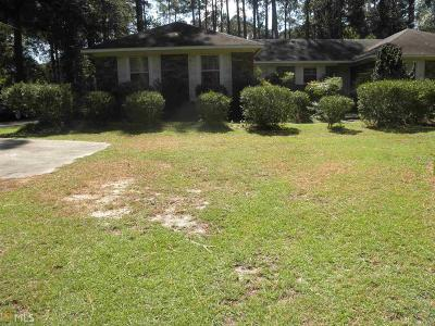 Statesboro Single Family Home For Sale: 28 Golf Club Cir