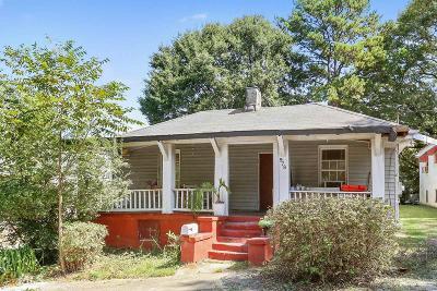 Atlanta Single Family Home New: 978 Farrington Place SE