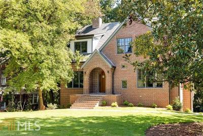 Atlanta Single Family Home New: 1250 Briardale