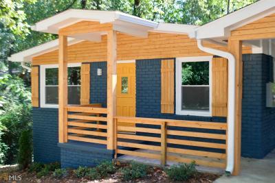 Atlanta Single Family Home New: 2572 Warwick