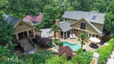Atlanta Single Family Home New: 1243 Stillwood Drive NE