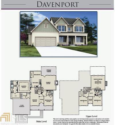 Senoia Single Family Home Under Contract: 49 Duck Drive (Lot 49) #49