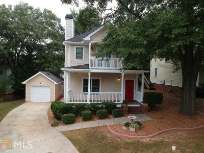 Atlanta Single Family Home New: 117 Bowen Circle SW