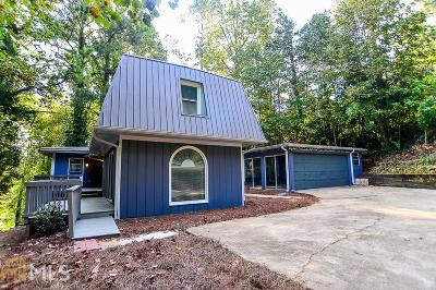 Dawsonville Single Family Home For Sale: 240 Chappell Rd