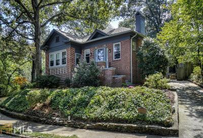Atlanta Single Family Home New: 431 Callan Circle NE