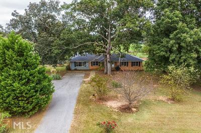 Elbert County, Franklin County, Hart County Single Family Home Under Contract: 1771 Goldmine Holly Springs