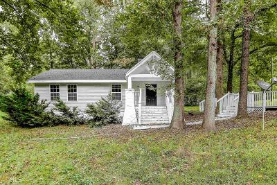 Dawsonville Single Family Home Under Contract: 98 Mtn Side