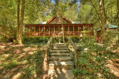 Ellijay Single Family Home Under Contract: 106 Two Brooks Trl