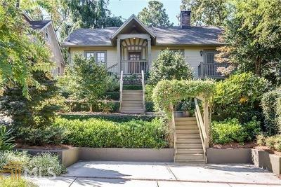Virginia Highland Single Family Home For Sale: 635 Cooledge Ave