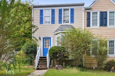 Kennesaw Condo/Townhouse Under Contract: 3457 Lee Ct