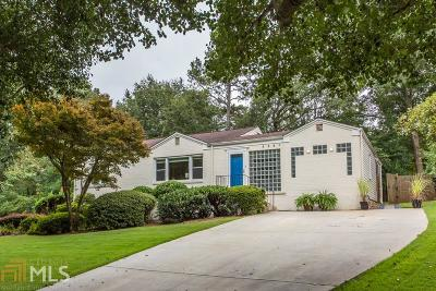 Decatur Single Family Home Under Contract: 2351 Wineleas Rd