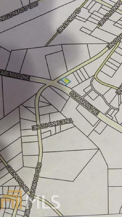 Conyers Residential Lots & Land For Sale: Old Covington Rd