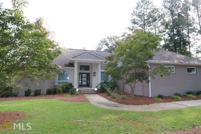 Statesboro Single Family Home For Sale: 1156 Brannen Lake Rd