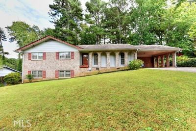 Norcross Single Family Home Under Contract: 6168 Tracy Valley Dr