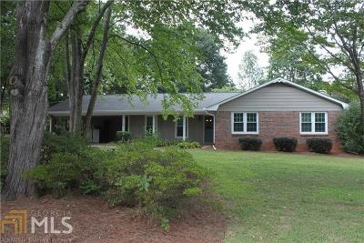 Alpharetta Single Family Home For Sale: 1870 Evergreen Ln