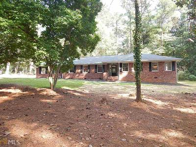 Winder Single Family Home For Sale: 172 Monroe Hwy