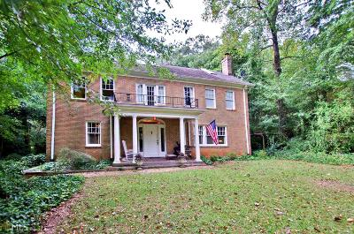 Druid Hills Single Family Home For Sale: 1295 N Decatur Rd