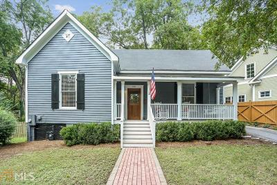 Historic Marietta Single Family Home Under Contract: 120 Holland St