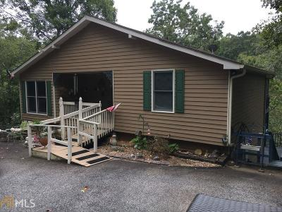 Lumpkin County Single Family Home Under Contract: 262 River Rock Rd