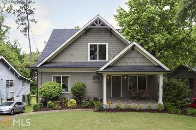 Decatur Single Family Home For Sale: 515 Oakview Rd