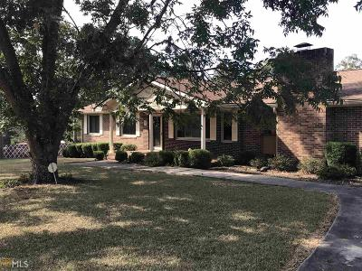 Haddock, Milledgeville, Sparta Single Family Home For Sale: 751 E Hwy 24