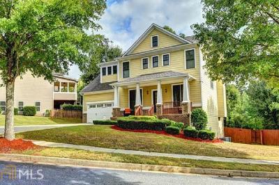 Suwanee Single Family Home For Sale: 208 Park Pt