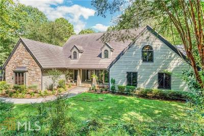 Roswell Single Family Home For Sale: 11805 Mountain Park Rd