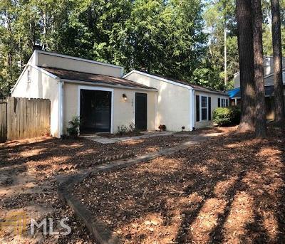 Peachtree City GA Single Family Home Under Contract: $177,000