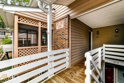 Roswell Condo/Townhouse Under Contract: 281 Quail Run