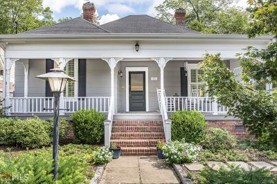 Decatur Single Family Home Under Contract: 243 Adair