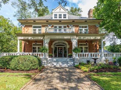 Newnan Single Family Home For Sale: 88 E Broad St