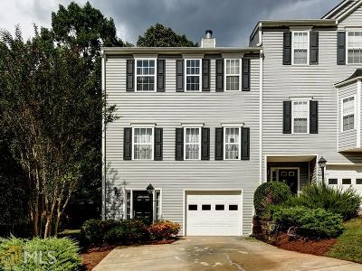 Acworth Condo/Townhouse Under Contract: 2502 Thorngate Dr
