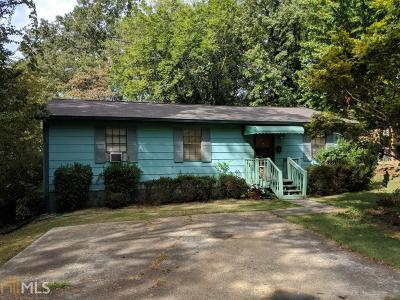 Historic Marietta Single Family Home Under Contract: 423 Fort St