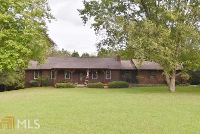 Banks County Single Family Home Contingent With Kickout: 842 Highway 326