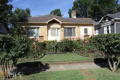 Decatur Single Family Home Under Contract: 247 Kings Hwy