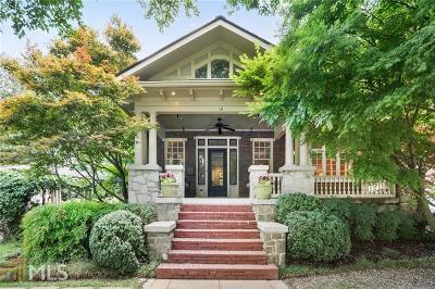 Ansley Park Single Family Home For Sale: 119 Peachtree Cir