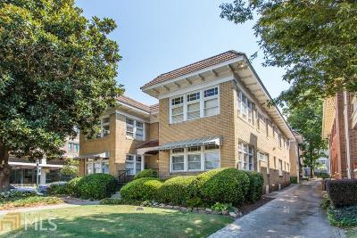 Condo/Townhouse For Sale: 653 N Highland Ave #1