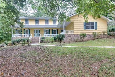 Lilburn Single Family Home Under Contract: 4593 Rivercliff Dr