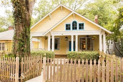 Fulton County Single Family Home Back On Market: 833 NE Charles Allen Dr