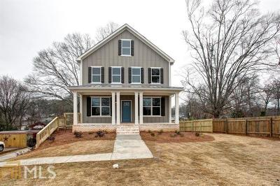Smyrna Single Family Home For Sale: 2525 Reed St