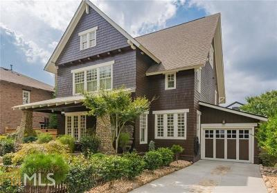 Roswell Single Family Home Under Contract: 185 Centennial Trc