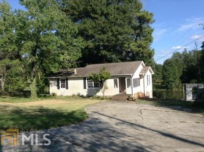 Carroll County Single Family Home Under Contract: 1157 Stripling Chapel Rd