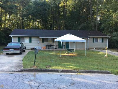 Clayton County Multi Family Home For Sale: 537 Evergreen Ter #537-539