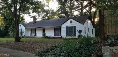 College Park Single Family Home For Sale: 3309 Victoria St