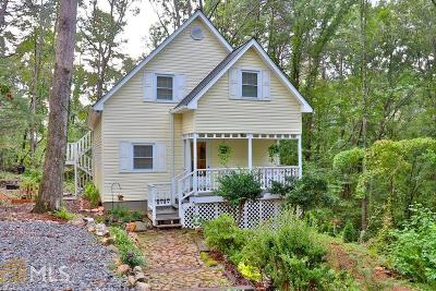 Dahlonega Single Family Home Under Contract: 810 Rock House Rd