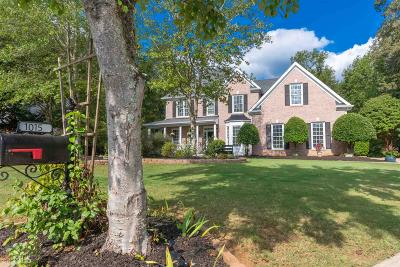 Suwanee Single Family Home Under Contract: 1015 Russell Pt