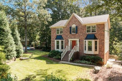 Roswell Single Family Home Under Contract: 11715 Highland Colony Dr
