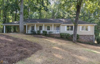 Roswell Single Family Home Under Contract: 4997 Bedell Rd