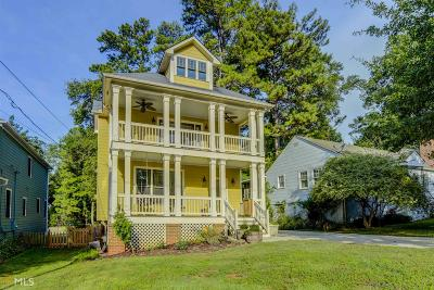 Decatur Single Family Home New: 1531 Carter Rd